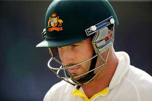 Shaun Marsh: in need of a score. Picture: Getty