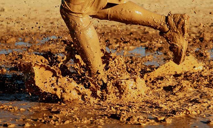 running-Mud