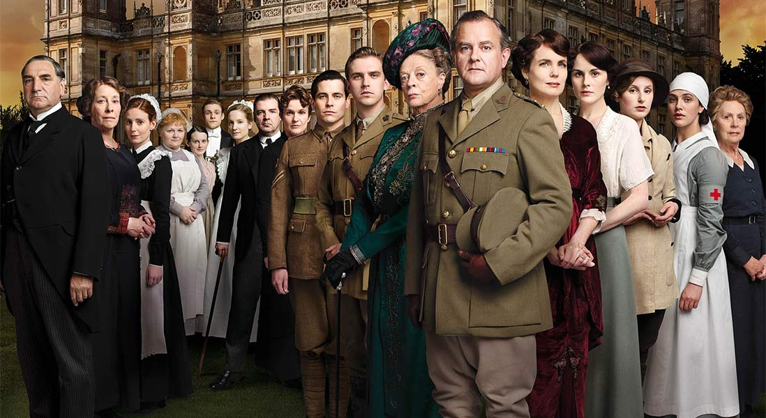 Cast of Downtown Abbey