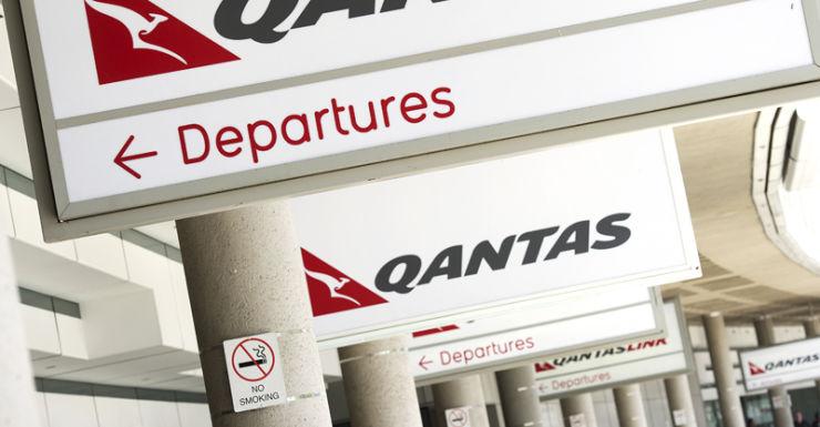 Qantas signage