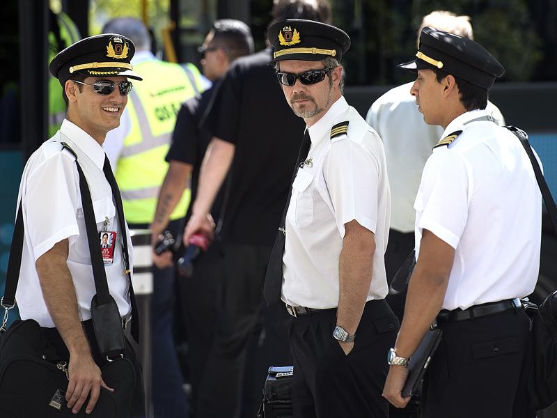 Qantas pilots