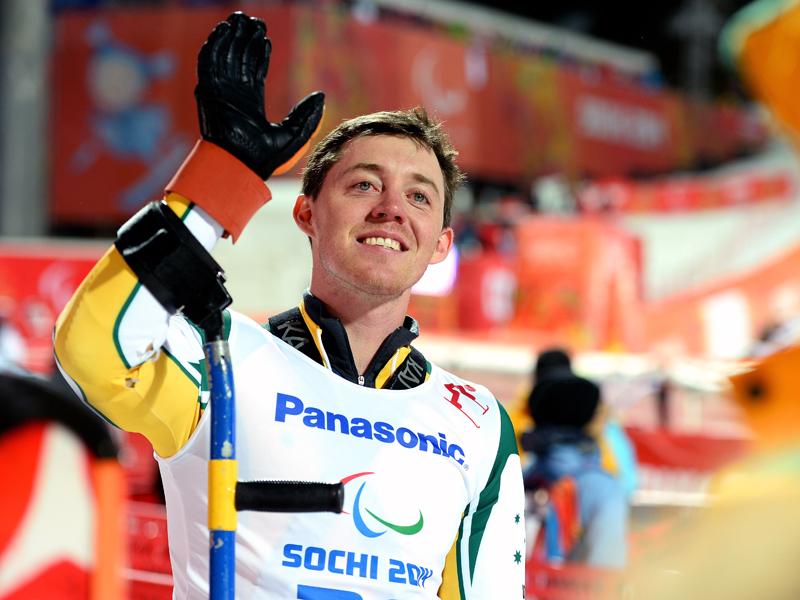 Australian alpine skier Toby Kane in Sochi