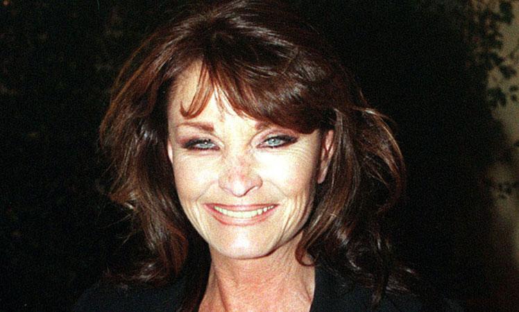 Kate O'Mara in 1998. Photo: AP