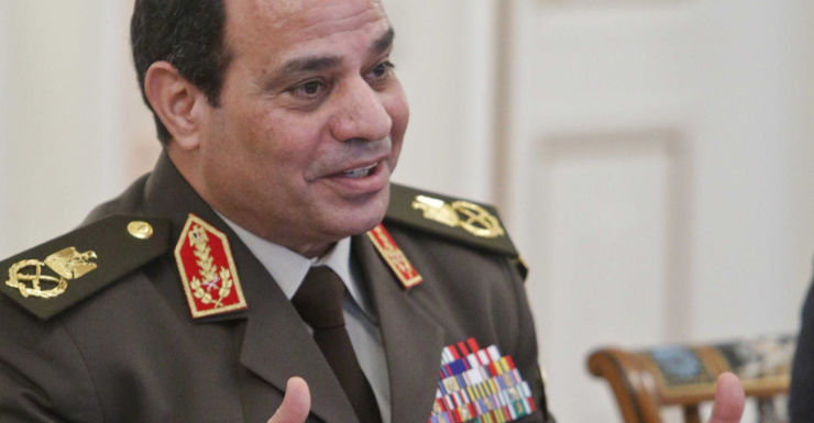 Egyptian Army chief Field Marshal Abdel Fattah al-Sisi