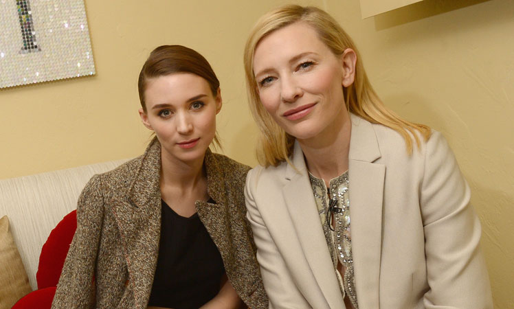 Mara and Blanchett at an event in 2014. Photo: Getty