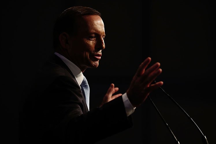Prime Minister Tony Abbott has vowed to slash red tape. Source: Getty