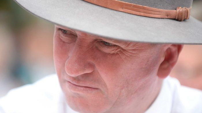 Talkback caller: Barnaby Joyce