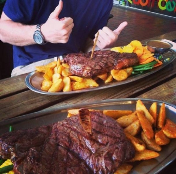 Man Vs Food Eating Challenges That Bust A Gut The New Daily