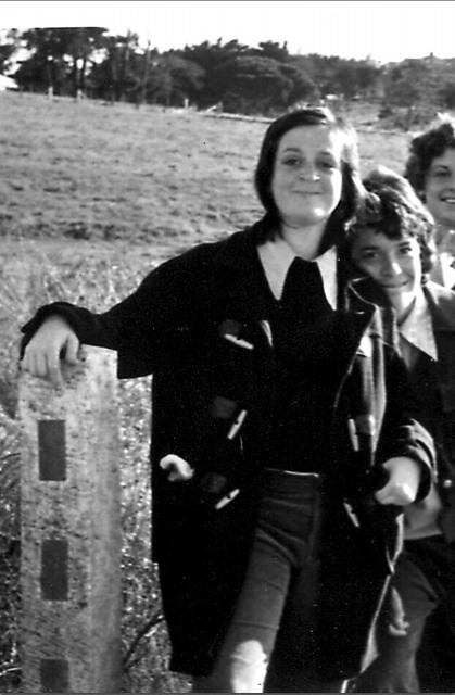 Wendy Harmer at age 15.