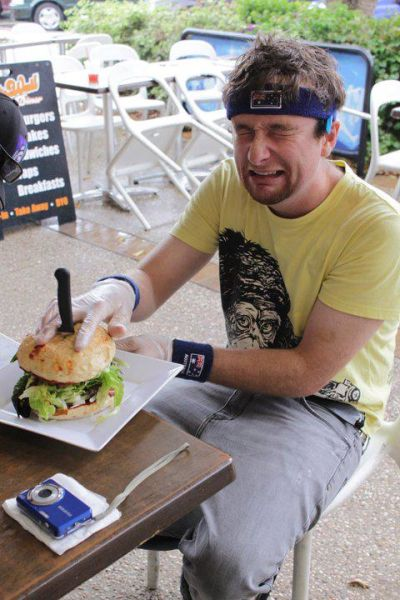 World's Hottest Burger