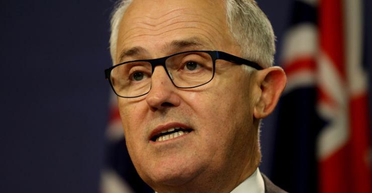 Malcolm Turnbull speaks in Canberra