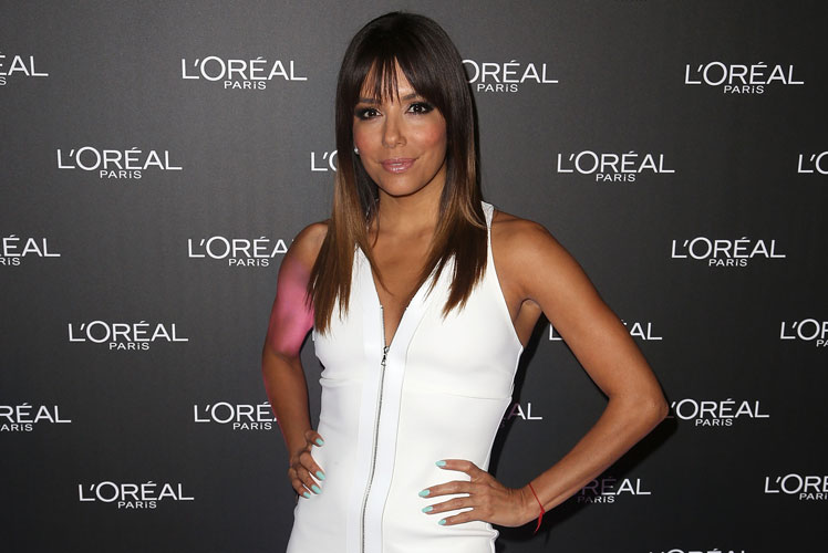 Eva Longoria was the celebrity guest at this year's Melbourne Fashion Festival.