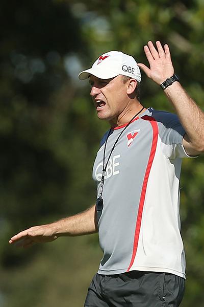 Sydney coach John Longmire.