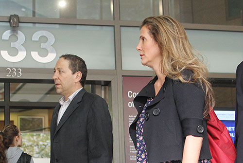 Kathy Jackson, national secretary of the HSU, arrives at court. Source: AAP.