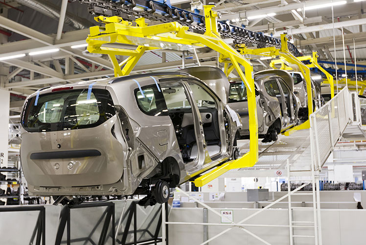 Car manufacturing is already heavily automated. Source: ShutterStock