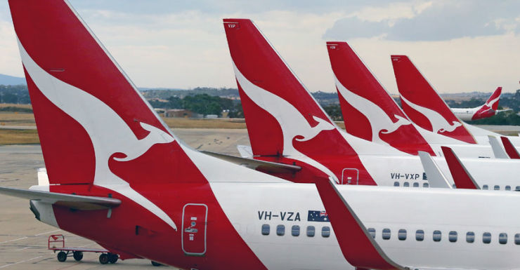 Qantas. Getty