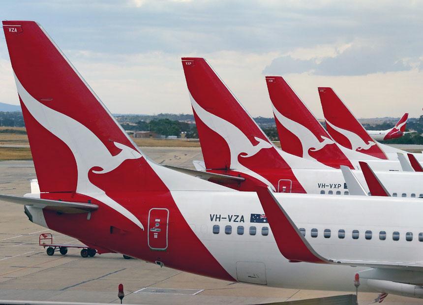 Qantas. Getty