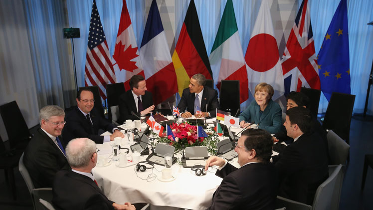 The G7 leaders. Photo: Getty