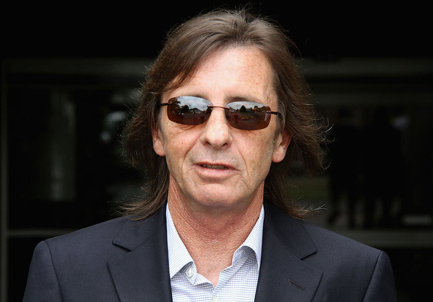 AC/DC drummer Phil Rudd
