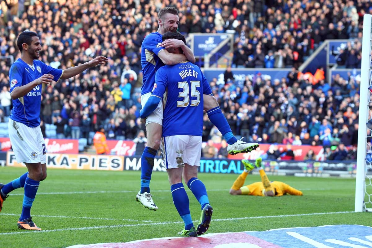 Leicester City make it 3-0 against Charlton Athletic.