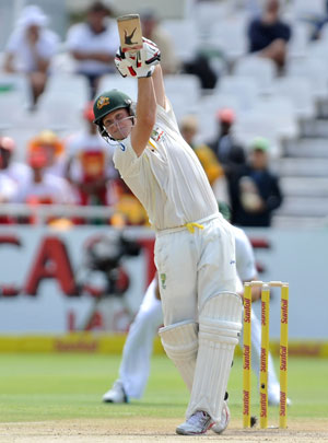 Steve Smith's clean hitting was superb. Picture: Getty