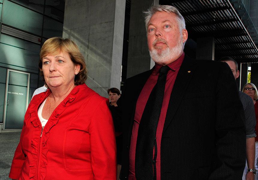Daniel Morcombe's parents