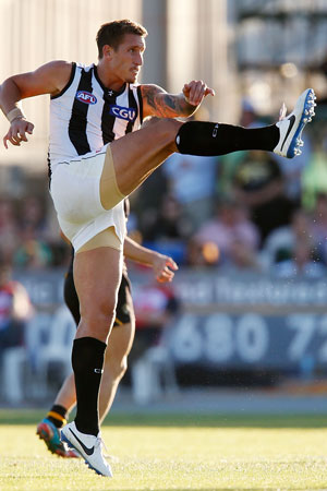 Ben Reid is not the answer to Collingwood's prayers. Picture: Getty