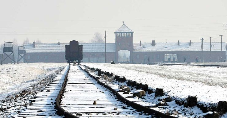 The tracks to Auschwitz, where doctors decided who would live or die.