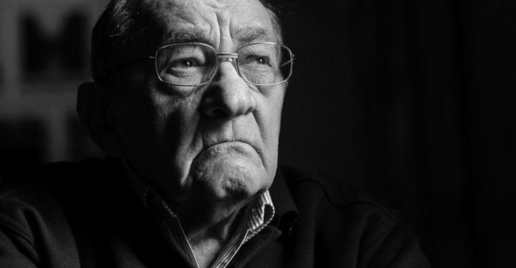Holocaust survivor Moshe Fiszman.