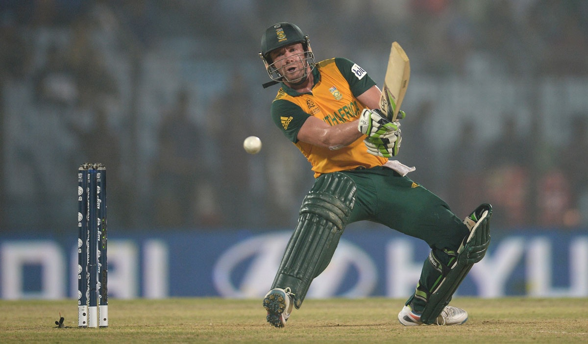 AB de Villiers gets funky at the World T20.