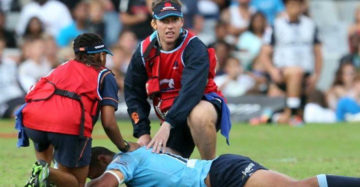 Kurtley Beale is worse for wear in Durban.