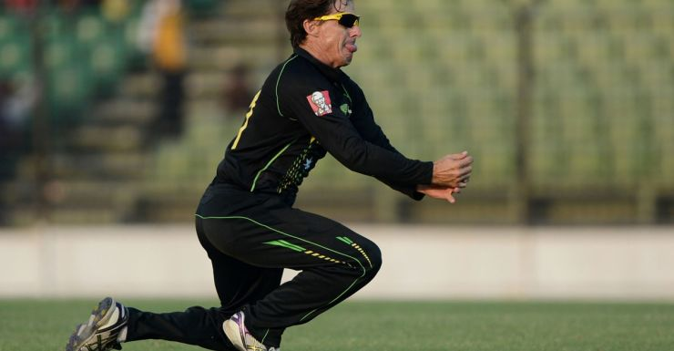 Brad Hogg was one of the main offenders in the field.