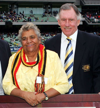 Faith Thomas: overlooked. Ian Chappell: honoured. Photo: Getty