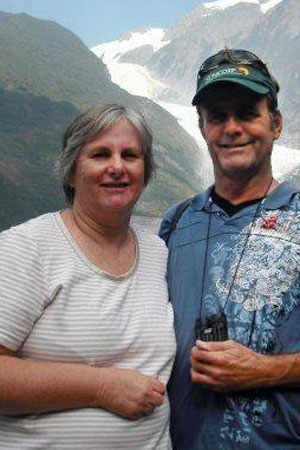 Aussies Catherine and Robert Lawton believed lost in the air disaster.