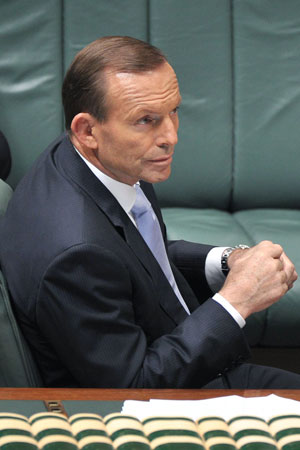 PM Tony Abbott is pushing ahead with PPL despite internal opposition.