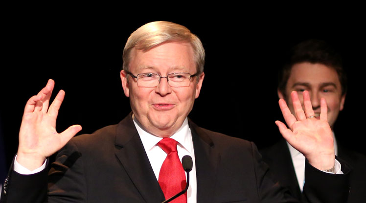 Kevin Rudd made a bright start as prime minister.