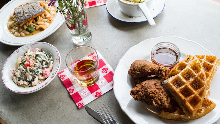 An Americana meal at Sweet Chick in Williamsburg. Photo: Sweet Chick NYC