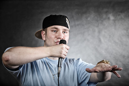 Some interviewees are required to do impromptu rap performances. Source: ShutterStock.