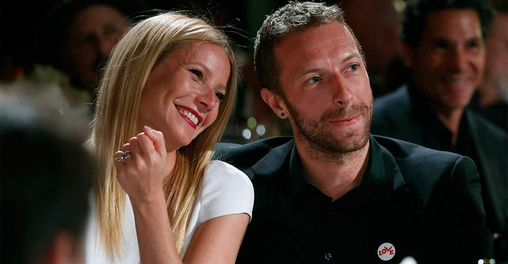 Gwyneth and Chris at a charity gala on January 11.
