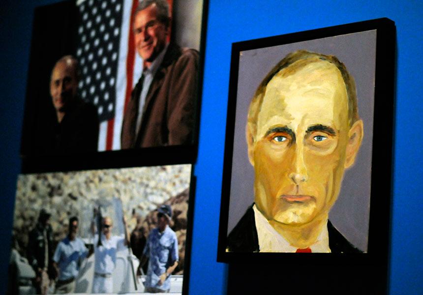 George Bush art