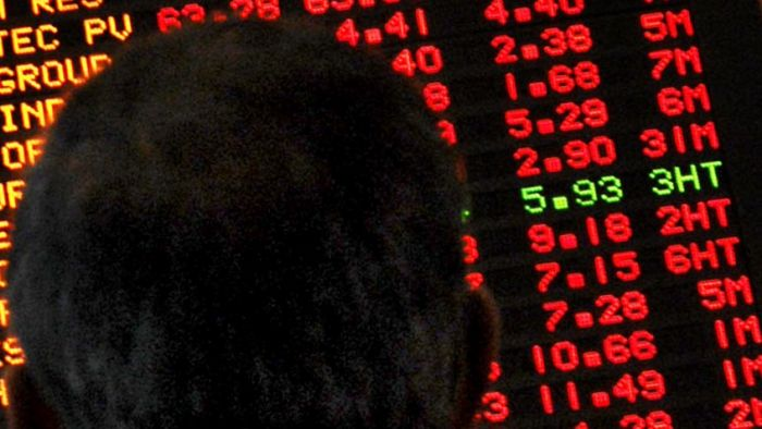 Banking and other financial stocks have led a fall on the Australian share market.