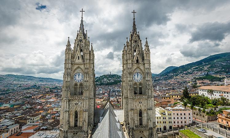 La Campania in Ecuador's capital, Quito.