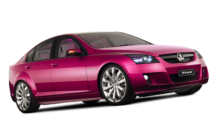 The Torana concept car.