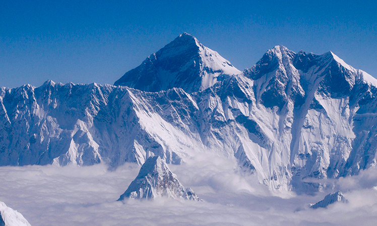 Mighty Mount Everest. Picture: AAP