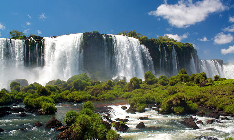 The Iguazu Falls are a must.