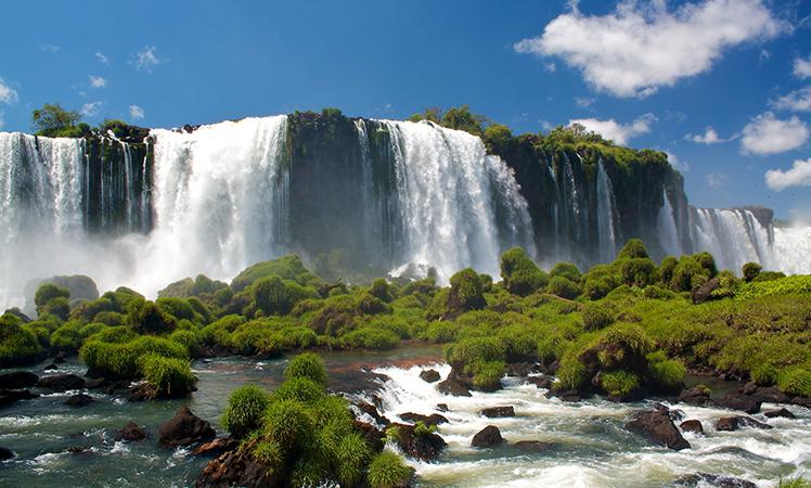 The Iguazu Falls are a must.