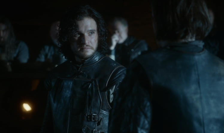 Jon Snow is a natural born leader.