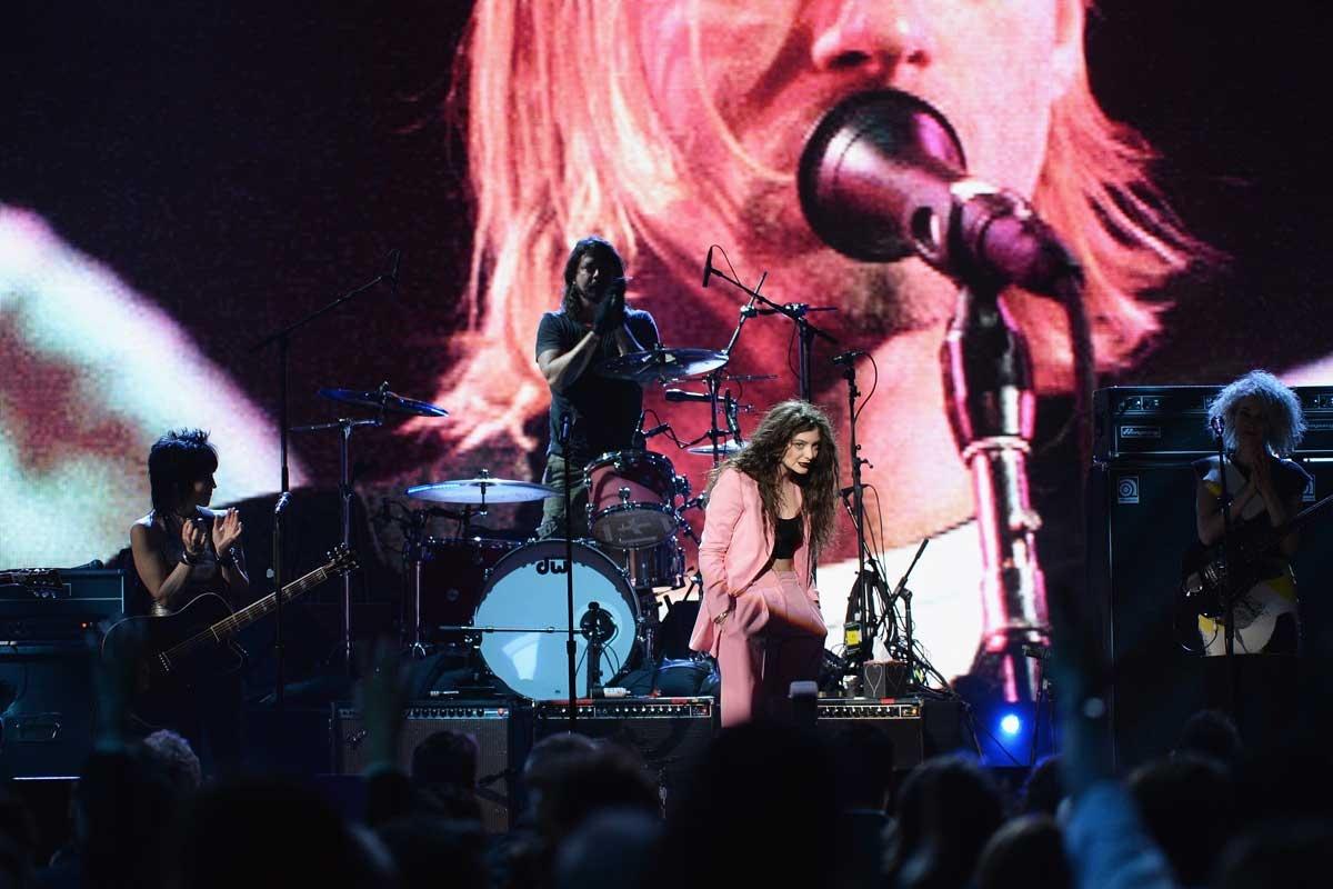 Lorde and Nirvana