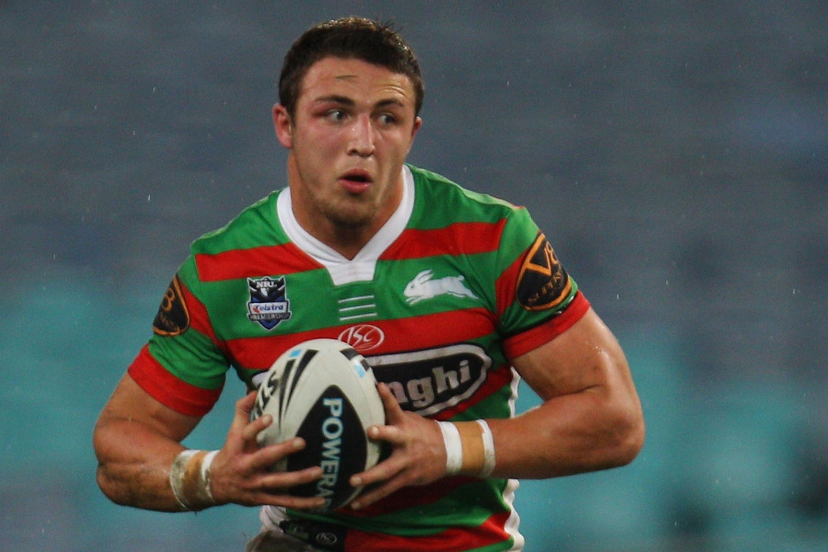 The Rabbitohs are furious at the treatment of Sam Burgess.
