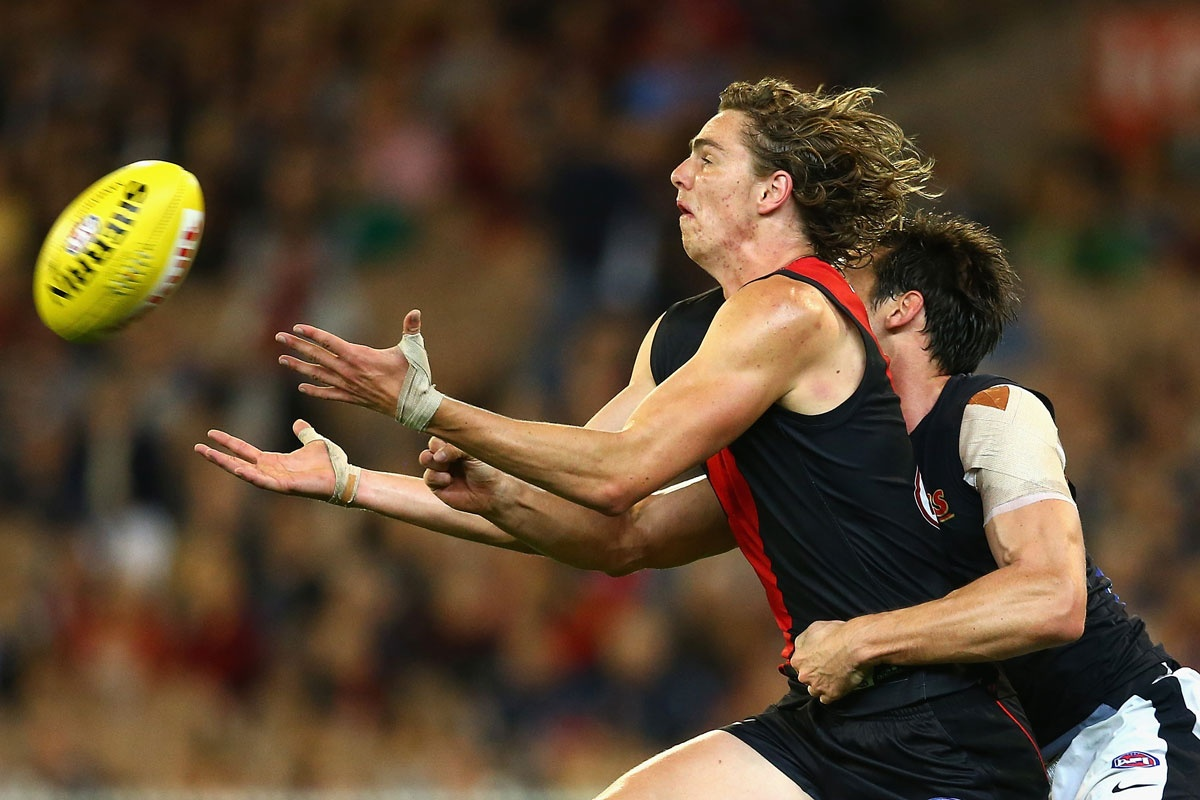 Likely lad: Essendon's Joe Daniher.